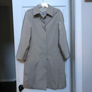MaxMara Classic Lightweight Trench Coat Jacket 4